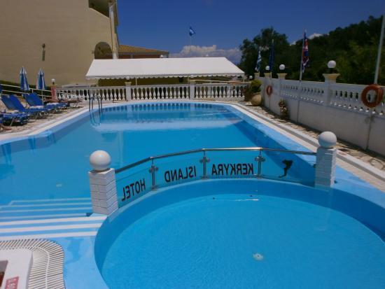 Kerkyra Island Studio Apartments: The pool