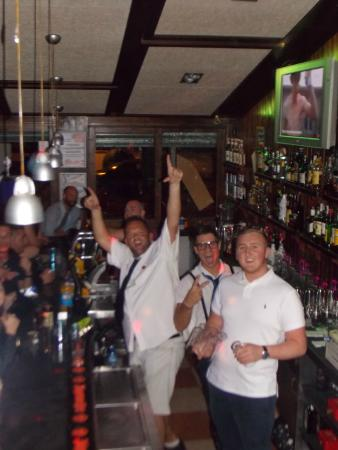 GoodFellas Music Bar: Your friendly, helpful, borderline alcholic bartenders