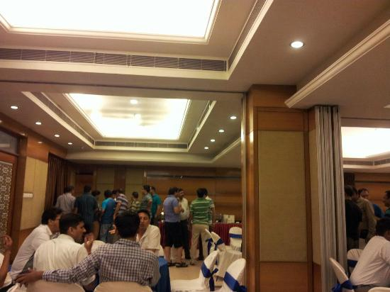 Comfort Inn: Our Conferece hall during the event