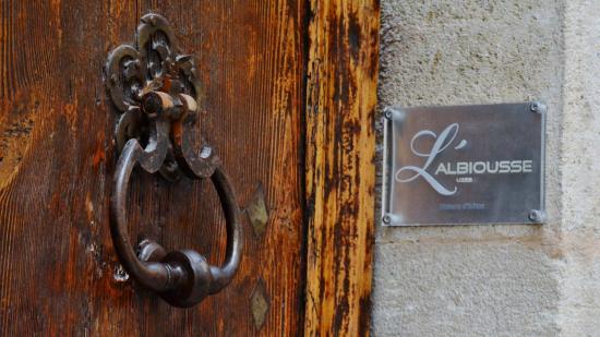 L'Albiousse -- entrance