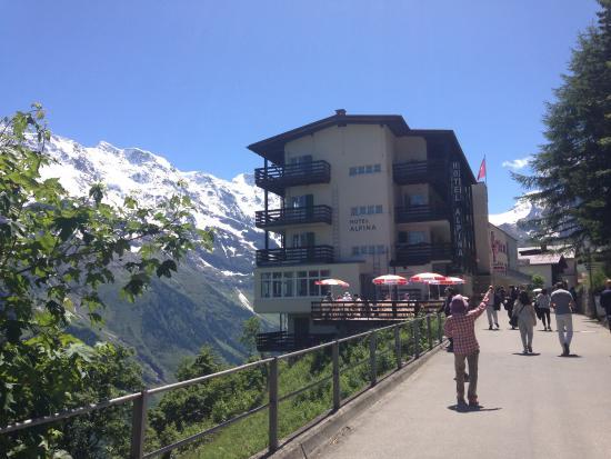View From The Road Picture Of Hotel Alpina Murren TripAdvisor - Hotel alpina murren switzerland
