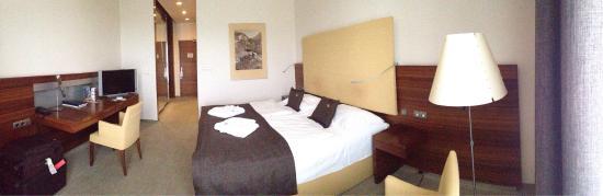 Hotel AquaCity Mountain View: Big nice room..