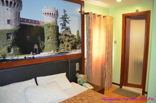 Eurotel North Edsa: room size
