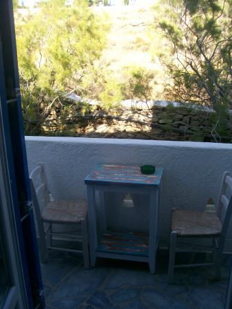 Aegean Hotel: balcone