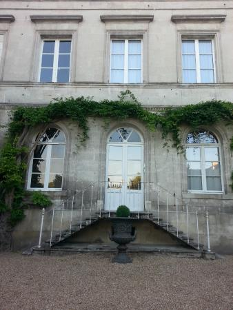 Le Grand Monarque: The back of the building we stayed in - built in 1805