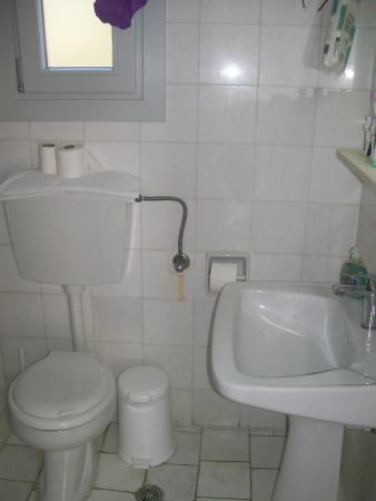 Aegean Hotel: bagno