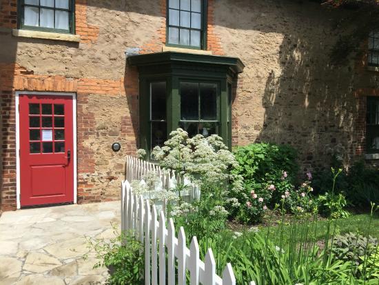 McFarland House: The entrance to the tea room