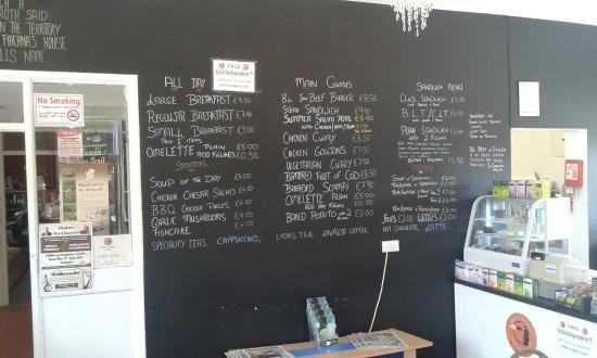 The Tain Cafe: Our Café menu