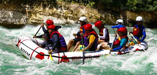 Great White Water Rafting