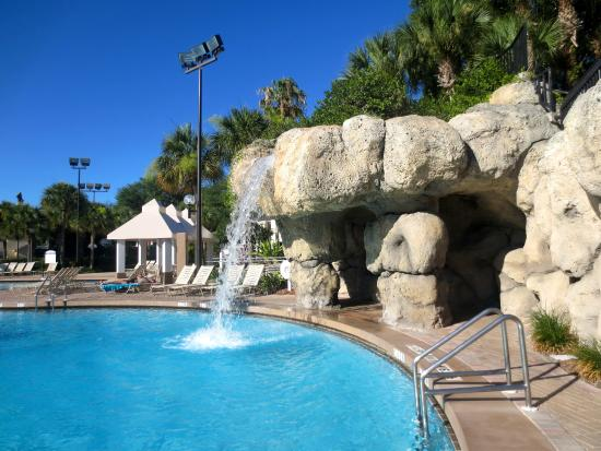 The waterfall at the fountains pool picture of sheraton for Pool show orlando 2015