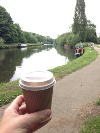 My favourite coffee tipple by the canal thanks to Otto's ������������