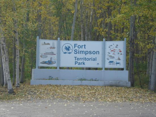 Fort Simpson Territorial Park