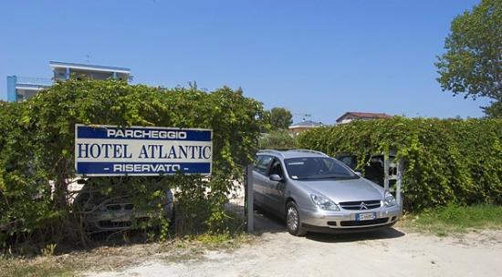Atlantic Hotel: parcheggio per tutte le auto