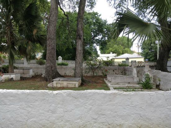 St. Patrick's Catholic Church: Grave yard inside church grounds