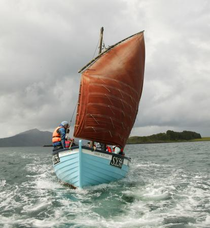 Isle of Raasay, UK: Traditional Sailing