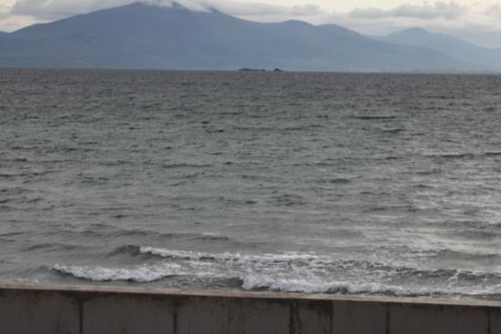 Ballyheigue, Irland: l'ocean à 100 m ........
