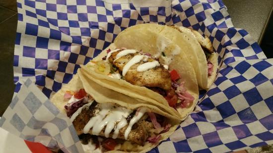 El Granada, CA: Fish tacos