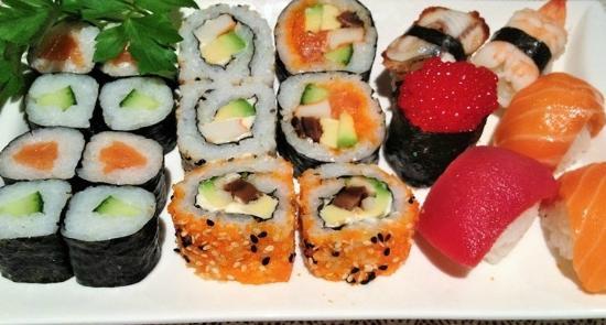 Tokio: sushi
