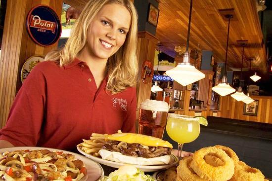 Grandma's Saloon & Grill: famous Grandma's menu