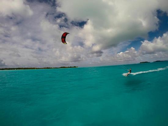 Kiteboarding Bora Bora - Picture of Kite Surf School Polynesie ...