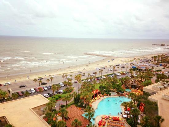 The San Luis Resort: balcony view 14th floor