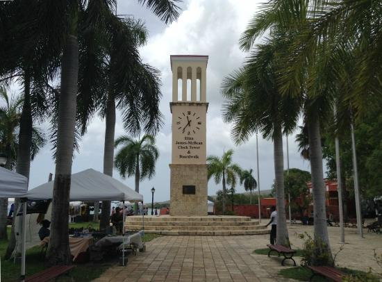 Frederiksted, St. Croix: Eliza James-McBean Clock Tower