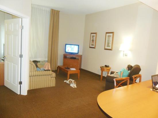 Candlewood Suites Winchester: Spacious Living Room