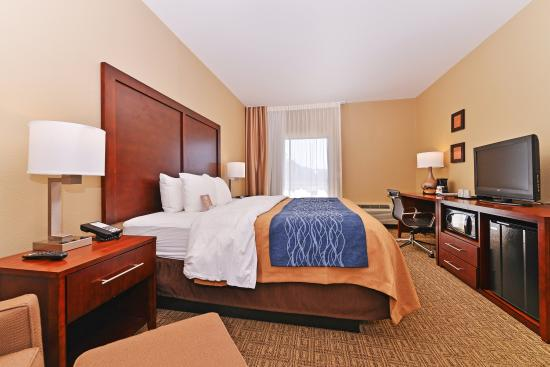 Comfort Inn Fountain Hills - Scottsdale: Bedroom