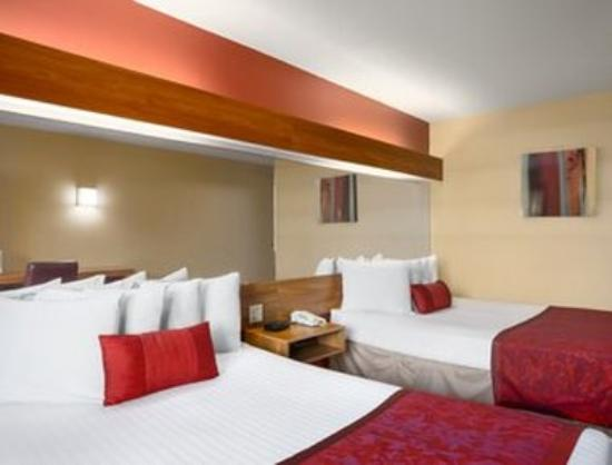 Days Inn & Suites Lafayette IN: Standard Two Queen Bed Room