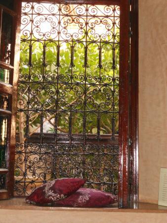 Riad Louaya: Vista dalla camera da letto