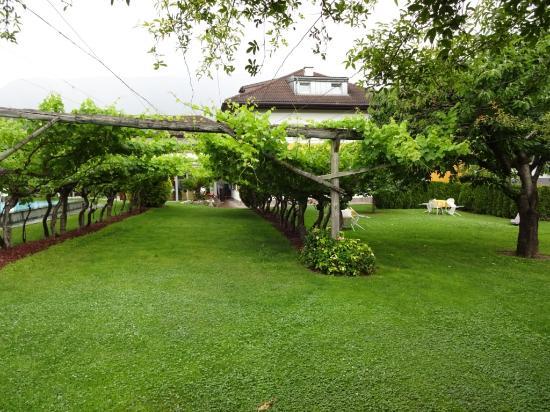 Hotel Frangart: Garten