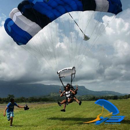 Chame, Panama: Landing