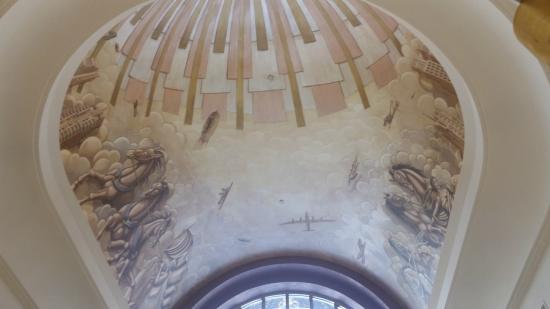 Hilton Boston Downtown / Faneuil Hall: Lobby Entrance Mural