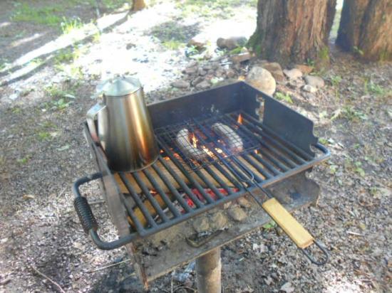 Hickory Hill Family Camping Resort: breakfast