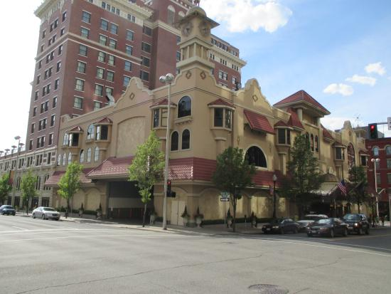 Downtown Spokane: City building
