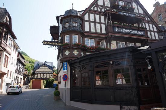 Hotel Alte Bauernschänke, Assmannshausen - Picture of Alte ...