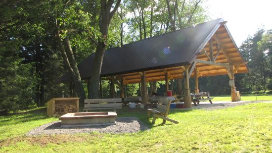 YMCA Camp Coffman : Pavilion available to rent