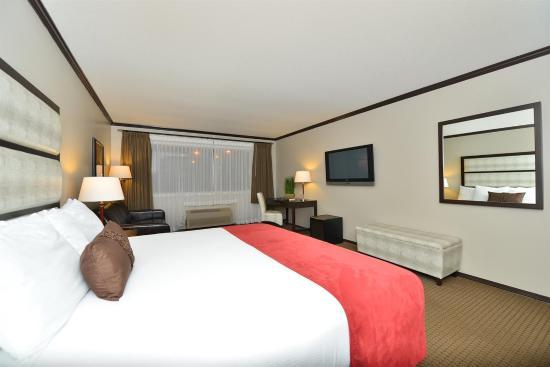 Prestige Hotel Vernon: Guest room