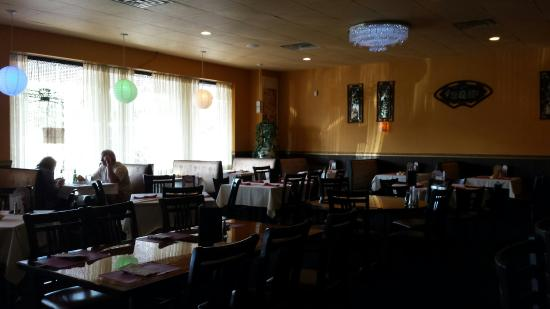 asian thai unassuming entry fully stocked bar and beautiful dining room asian dining room beautiful pictures photos