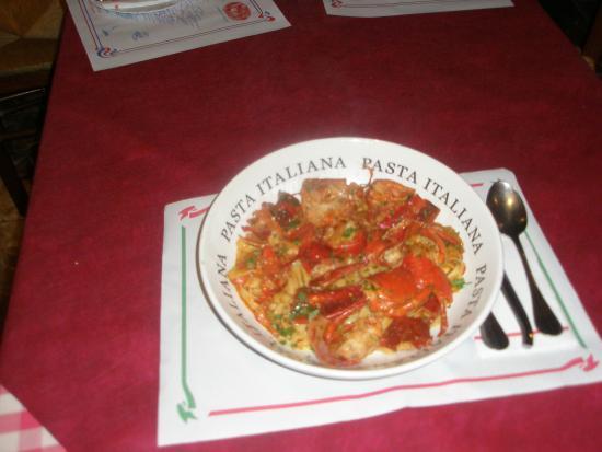 Restaurante Venezia Da Luigi: Pasta italiana