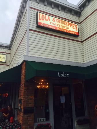 Lola & Guiseppe's Trattoria: If you find it don't pass it up!
