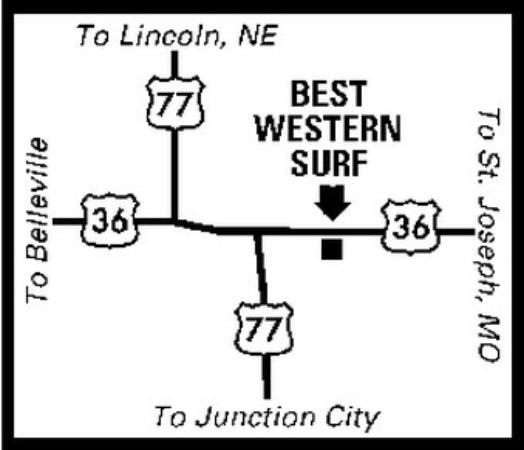 Marysville Surf Motel: Regional Map
