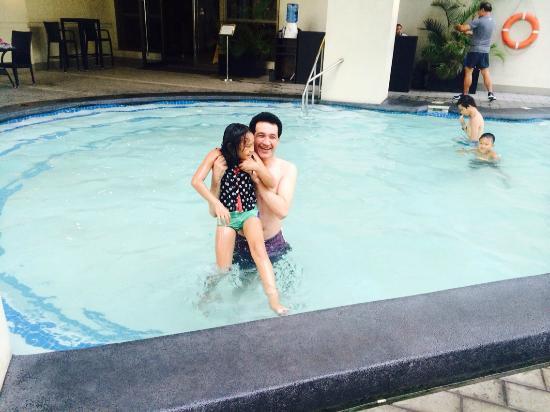 At hotel pool picture of mandarin plaza hotel cebu city - Mandarin hotel cebu swimming pool ...