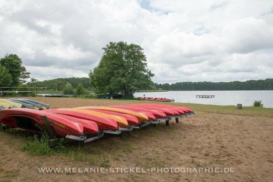 Ferienpark Mirow: Kanuanleger