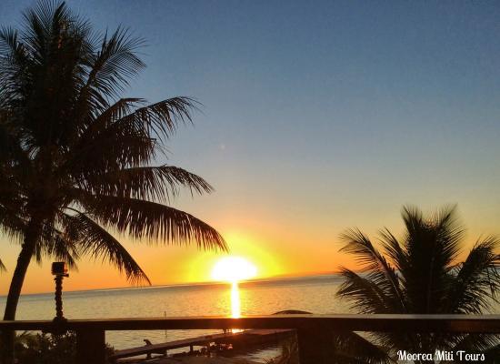 Papetoai, Polinesia Francesa: Sunset hilton