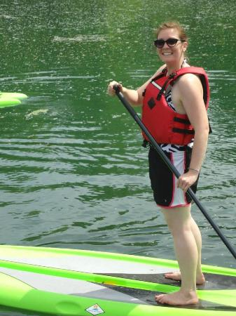 Fuzzy Guppies : Paddle boarding