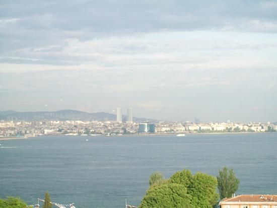 Cem Sultan Hotel: vista desde el desayunador