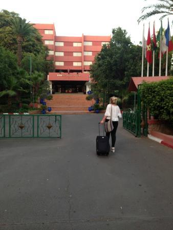 Hotel Kenzi Farah: Front of the hotel