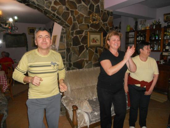 Pietroasa, Roumanie : Jó a kedvünk...