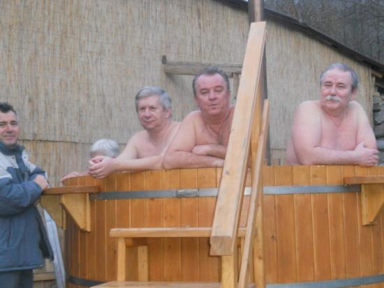 Pietroasa, Roumanie : A dézsa... (télen)
